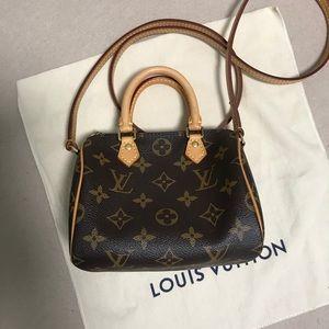 Authentic Louis Vuitton speedy nano